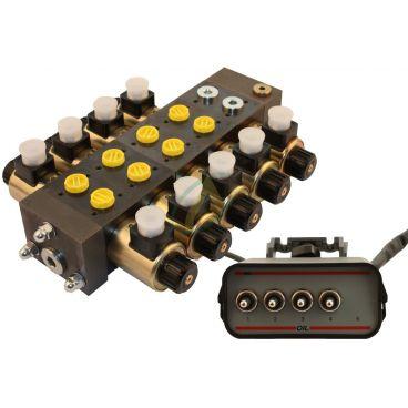 Distributeur électro-hydraulique 40l/min sans limiteur de pression