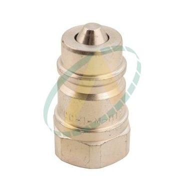 Coupleur hydraulique mâle à clapet ISO-A