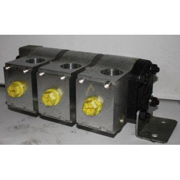 Diviseur volumétrique 3 x11.2 cc avec limiteur de pression 50 bars