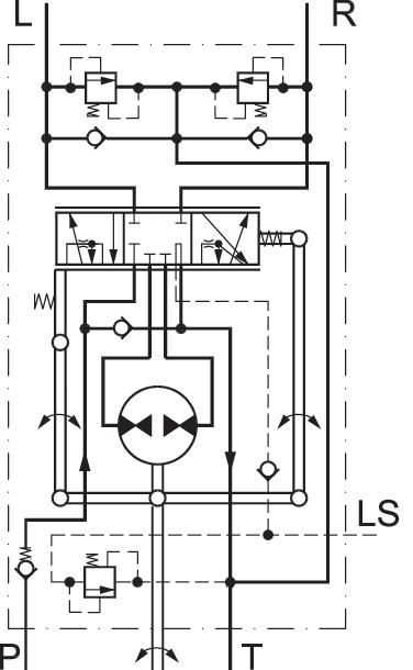 orbitrol de direction sauer danfoss 150-1231