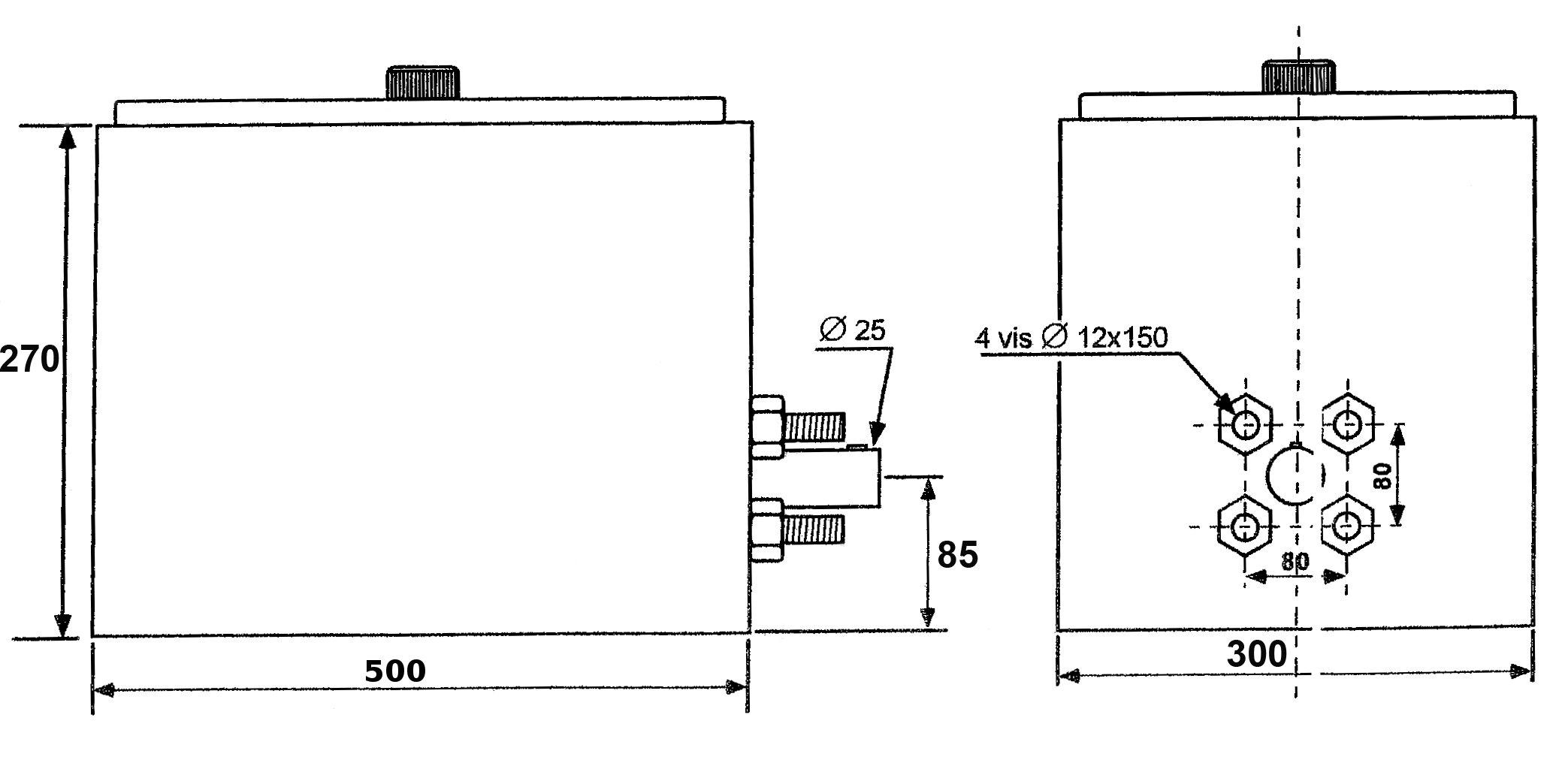 Schéma compresseur de bennage 10 a 16 T