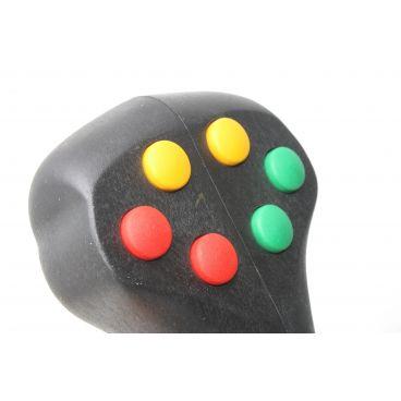 Poignée avec 6 boutons poussoirs et 1 gâchette