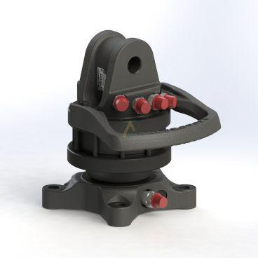 Rotator à platine 3 tonnes, 140 x 140 mm, 4 orifices