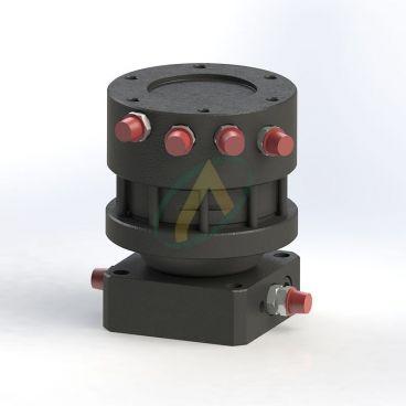 Rotator à platine haute et basse, 3 tonnes, 4 orifices