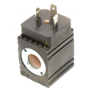 Bobine électrique Carrée 12V CC diamètre intérieur 13 mm longueur 33 mm puissance 12 Watts