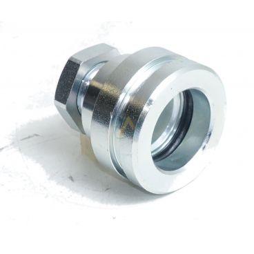 """Bouchon parking acier avec verrouillage o-ring pour coupleur mâle 1/2"""" ISO-A"""