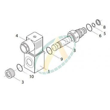 Electrovannes de décompression normalement ouverte avec commande de secours PVPX