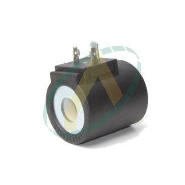 Bobine électrique Ronde 24V CC diamètre intérieur 16 mm longueur 50 mm puissance 26 Watts