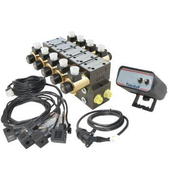 Distributeur 40l/min 315bar à commande électrique