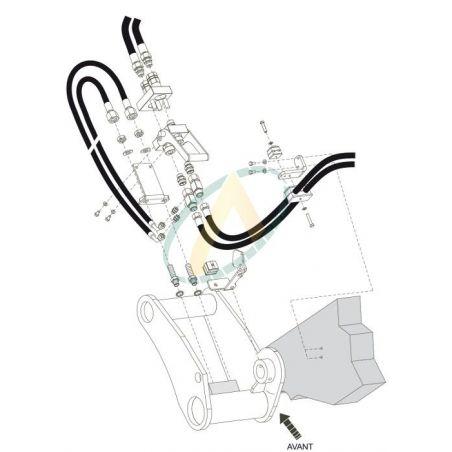 Multicoupleur pour télescopique CLAAS