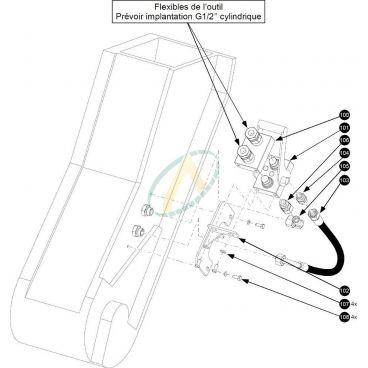 Multicoupleur pour télescopique MANITOU