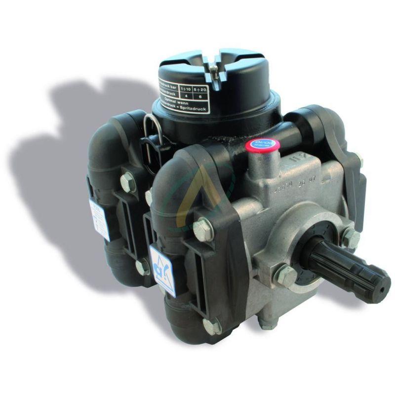 Pompe à membrane - Pulvérisateur - 4 chambres 15 bar - 150 l/min