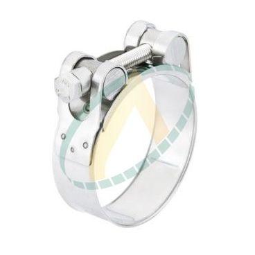 Collier de serrage renforcé GBS - Diamètre 44 à 47 mm - Fermeture STC
