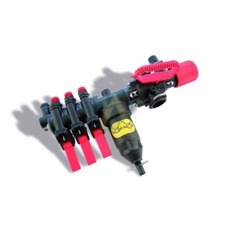 Régulateur pour pulvérisateur - Gros débit avec dispositif de pression égale
