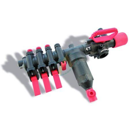 Régulateur pour gros débit avec dispositif de pression égale