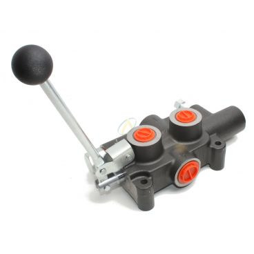 Distributeur pour fendeuse de buche - Commande Manuel - 80L/min - Double vitesse
