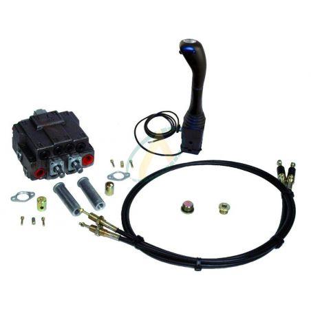 Distributeur pour chargeur frontal avec téléflexible 2DE Load Sensing (LS)