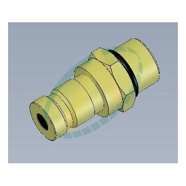 Prise de pression - Type coupleur mâle 9/16 SAE