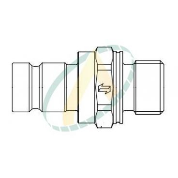 Prise de pression - Type coupleur mâle - Mâle M14x150