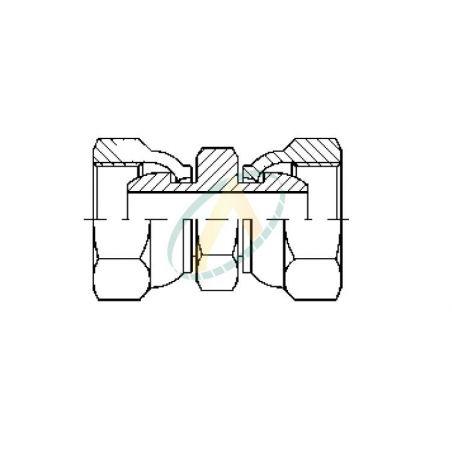 Union femelle - Tournant - 1/2 BSP