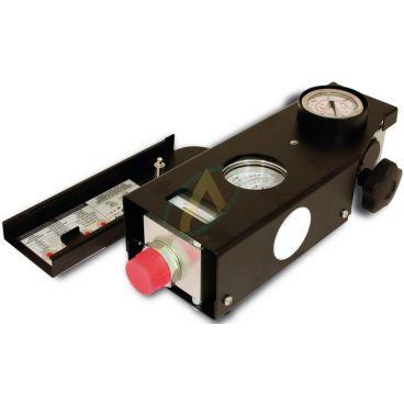 Débitmètre hydraulique bidirectionnel de 10 à 200l/min 420 bar.