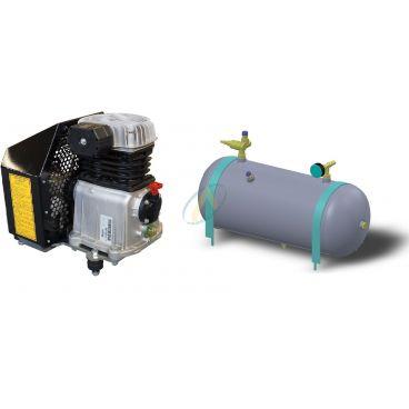 Compress'air hydraulique de capacités 30 m3/heure avec une cuve de 50 litres