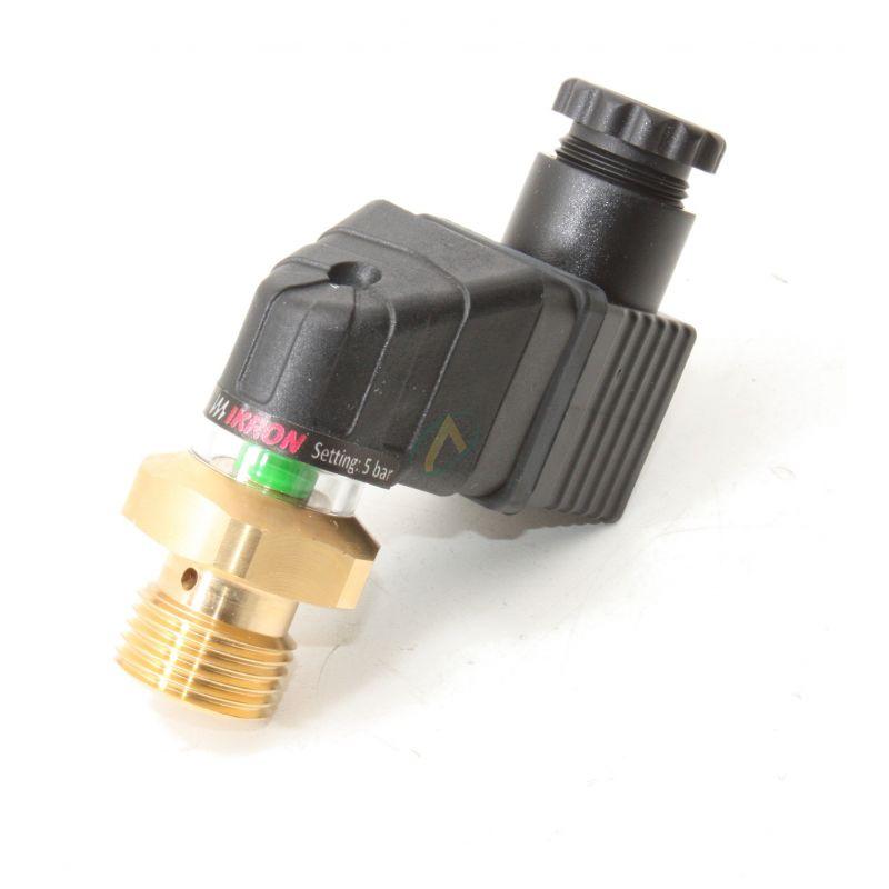 Indicateur de colmatage électrique et visuel, 30 VCC, 5 bar avec By-pass