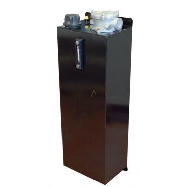Réservoir 65L équipé d'un filtre de retour 100L/min - 30 microns