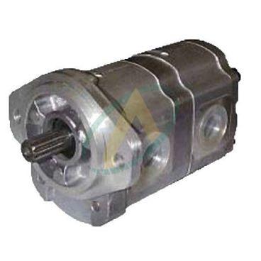Pompe hydraulique double 10+10 cm3 pour minipelle Amman Yanmar modèle YB201
