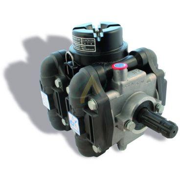 Pompe à membrane - Pulvérisateur - 4 chambres 15 bar - 200 l/min