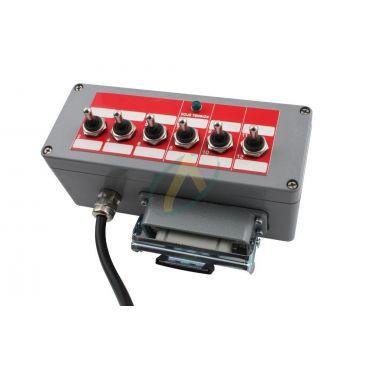 Boîtier de commande pour électro distributeur 6 à 9 fonctions