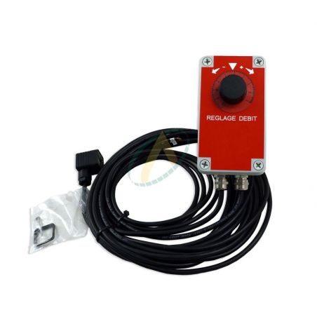 Boîtier de contrôle pour diviseur de débit