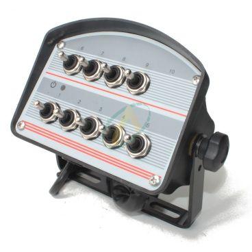 Boîtier de commande pour électro distributeur 6 à 10 fonctions