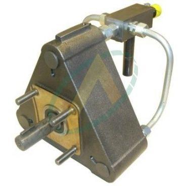 """Pompe à 9 pistons radiaux - 80 cm3 - Arbre 1""""3/8 - Avec limiteur de pression"""