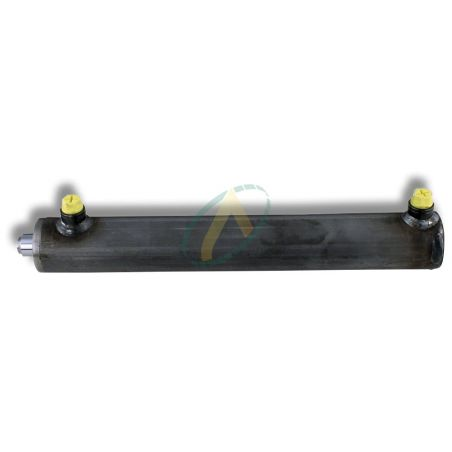 Vérin double effet sans fixation standard tige 40 mm et piston 60 mm