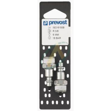 Adaptateur ISO B ø6mm - Mâle ou femelle 1/4 BSPP