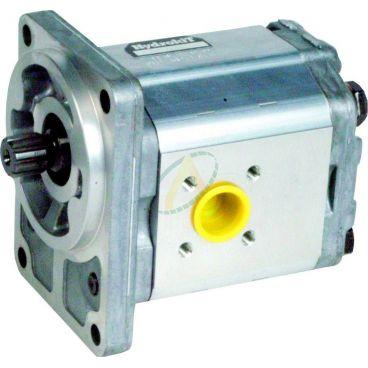 Pompe hydraulique double 17+17 cm3 pour tracteur BOBARD