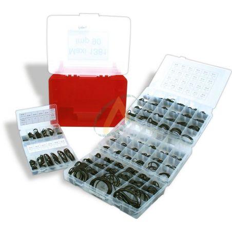 Boîtes de 5 coffrets de joints (1380 en tout) toriques 90 shores