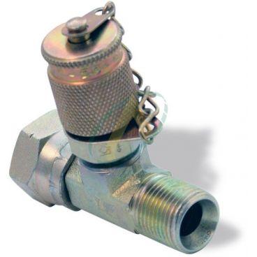 Prise de pression M16x200 en Té - Implantation BSP mâle/femelle - Pour piquage en ligne
