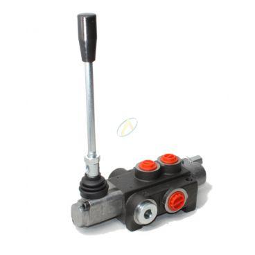 Distributeur monobloc 40 l/min - Centre à suivre & circuit ouvert - Double effet