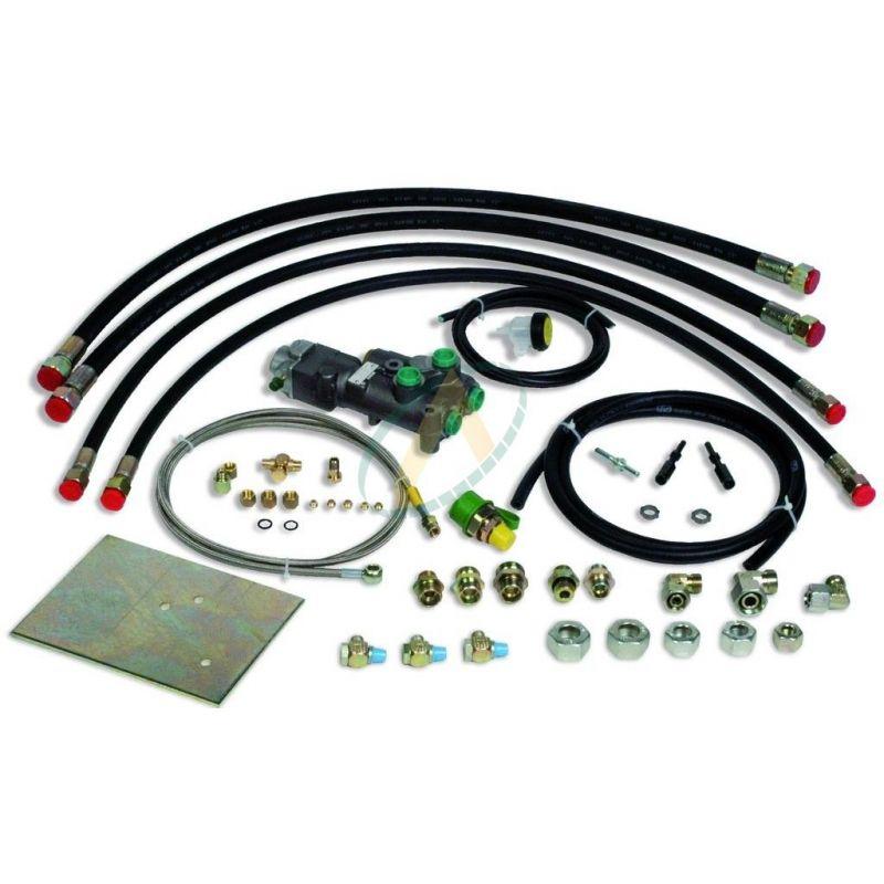 Kit freinage hydraulique de remorque - Huile minérale - Pour tube ø4,78 mm