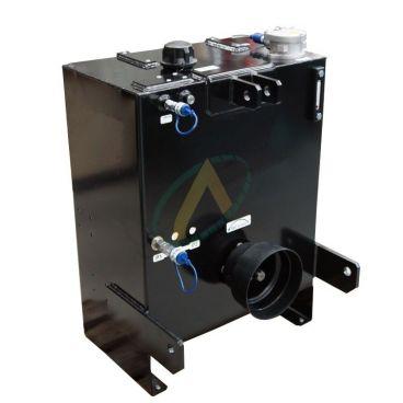 Groupe hydraulique vigneron 80 litres, 40 l/min avec régulateur de débit