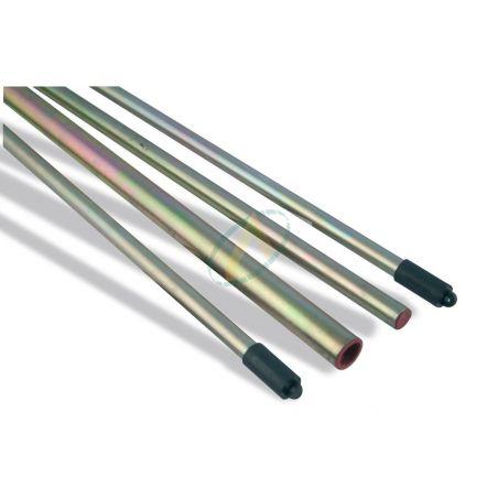 Tube de graissage acier de diamètre extérieur 18 mm et intérieur 14 mm