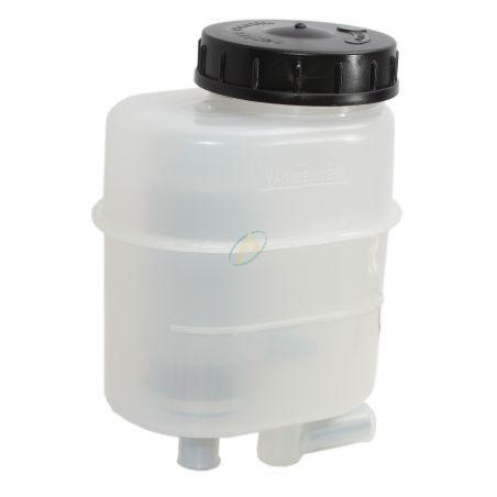 Réservoir plastique PVC avec filtre 0.5L - Entrée et sortie diamètre 16mm