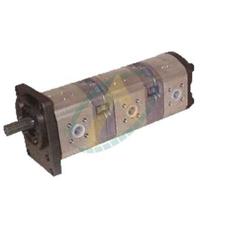 Pompe hydraulique triple - 11+11+7 cm3 - Kubota KH60 & KX71