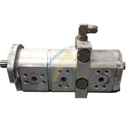 Pompe hydraulique triple - 13+11+11 cm3 - Adaptable Bobcat X328