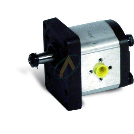 Pompe 4 à 8 cm3 - Groupe 2 flasque 71.5x96 - Arbre conique 1/8 - Bride 30x30