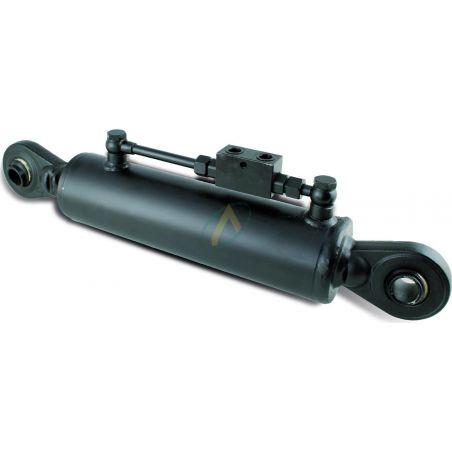 Troisième point hydraulique rotule 19 mm tige 30 mm entraxe fermé 460 mm
