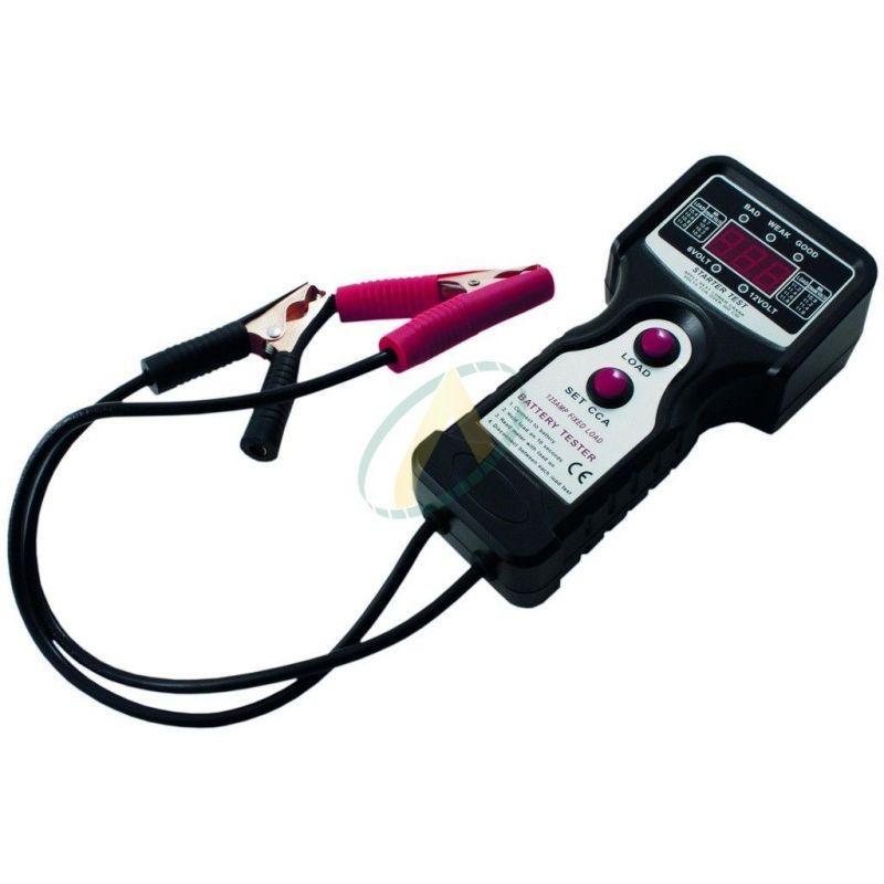 Testeur de batterie 6 et 12 volts
