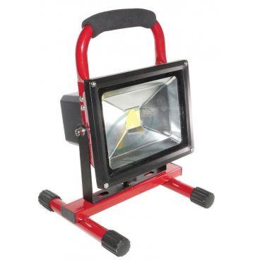 Projecteur à leds portatif 20 watts basse consommation